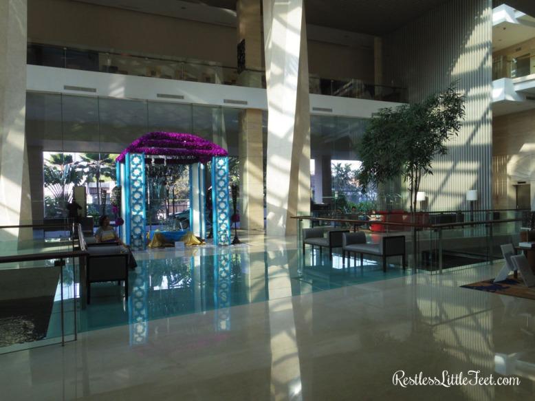 Lobby hotel.